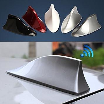 vyage - antena para coche de aleta de tiburón, blanco, señal ...