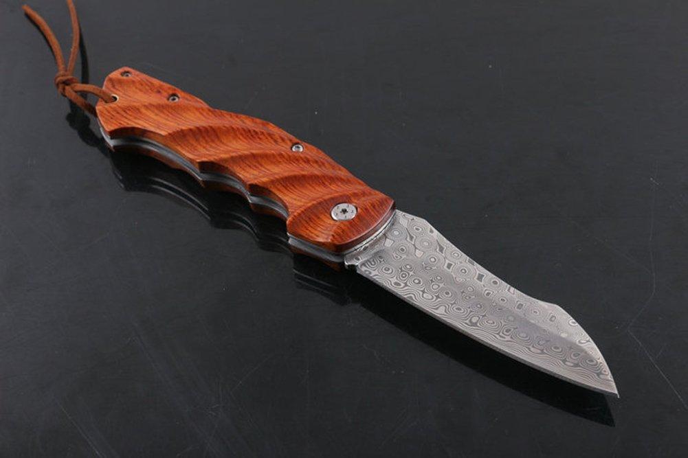 chenpk04976 Sueco polvo handgemachtes Damasco Acero Folding ...