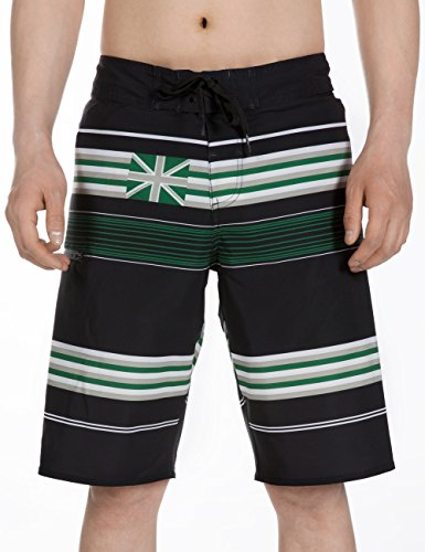 YGE.I.L25 Mens Surfing Boardshorts Flag of Scotland Quick Dry Beach Boardshort with Pocket