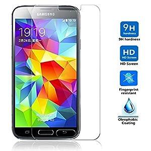 Electrónica Rey Protector de Pantalla para Samsung Galaxy S5 / S5 Neo Cristal Vidrio Templado Premium 22
