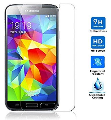 Electrónica Rey Protector de Pantalla para Samsung Galaxy S5 / S5 Neo Cristal Vidrio Templado Premium 1