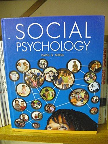 Social Psychology David G Myers