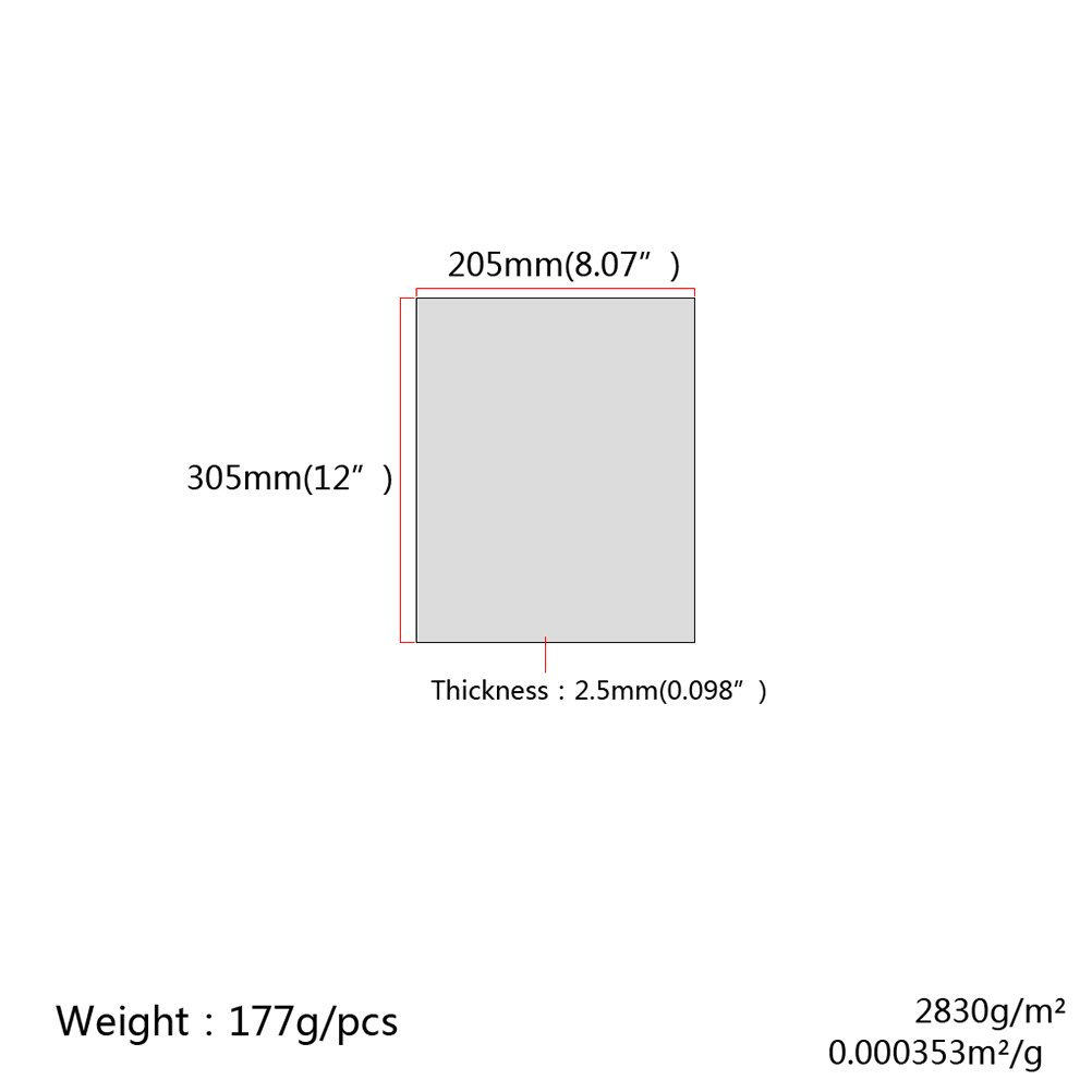 Displaypro 6mm Clear Acrylic Plastic Safety Sheet For Shed Windows Many Sizes Avail 457mm x 457mm 18in x 18in