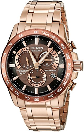 Citizen-Eco-Drive-Mens-AT4106-52X-Perpetual-Chrono-A-T-Rose-Gold-Tone-Watch