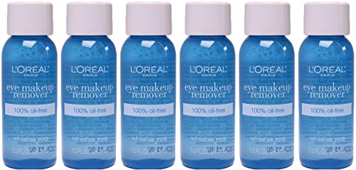 L'oreal Paris Oil-Free Eye Makeup Remover, 1 ounce, (Pack of 6)