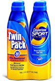 Coppertone Sport Clear Continuous Spray SPF 30, 6 oz, Twin Pack