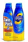coppertone sport sunscreen spray - Coppertone Sport Clear Continuous Spray SPF 30, 6 oz, Twin Pack