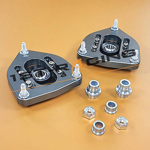 Pillow ball Front Camber Plates Mount For Mini Cooper R55 R56 R57 R60 R61 Coilover