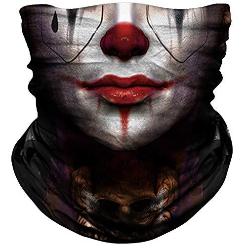 NTBOKW Skull Mask Half