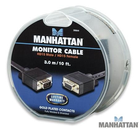 Manhattan Rev 3.04/390644 SVGA Extension Cable 10' by Manhattan (Image #3)