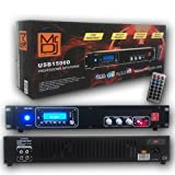 Mr. Dj USB1500D DJ Mixer Professional MP3 Player USB Interface and SD Card Reader with LCD Display and Remote Control