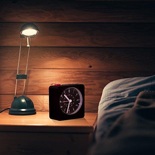 Marathon Clock Auto Back Light and Repeating Snooze.