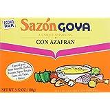 Goya Sazon Goya Azafran Econopak, 3.52-Ounce Units (Pack of 6)