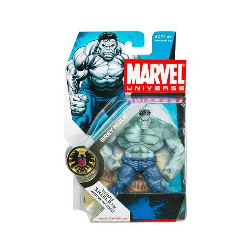 "Marvel Universe 3 3/4"" Series 2 Action Figure Grey Hulk"