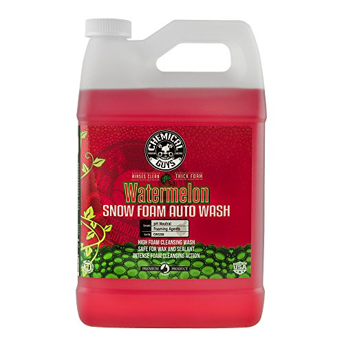 Chemical Guys CWS208 Watermelon Snow Foam Cleanser (1 Gal), 128. Fluid_Ounces