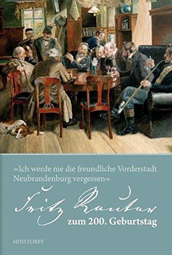 Price comparison product image Fritz Reuter zum 200. Geburtstag. 1810 – 2010