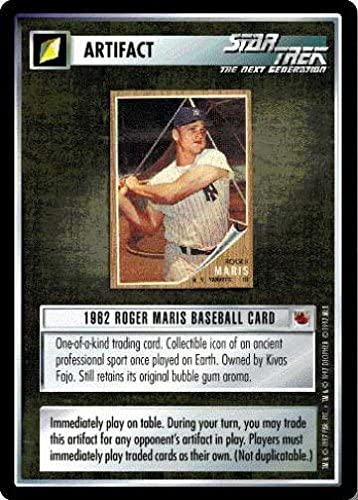 Star Trek Fajo Collection Roger Maris Baseball Card