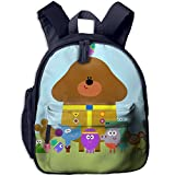 Toddler Kids Hey Duggee Pre School Shoulder School Bag Navy