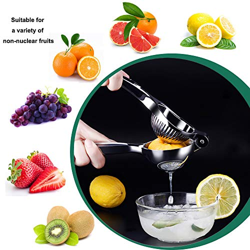 Compra Niviy Exprimidor Manual de Limón Extractor de Frutas, Exprimidor de Manos Fácil de Usar y Limpiar, Adecuado para Limón, Lima, Jugos de Naranja y ...