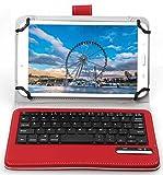 IVSO Case for Huawei MediaPad T3 10.0, Wireless - Ultra-Thin Detachable Wireless Keyboard