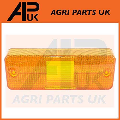 APUK Front Headlight Headlamp Light Lamp Indicator Lens Compatible with JCB Fastrac Tractor Dumper:
