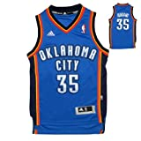 YOUTH NBA Oklahoma City Thunder Durant #35 Pro Quality Athletic Jersey Top with Embroidered Logo & Numbers
