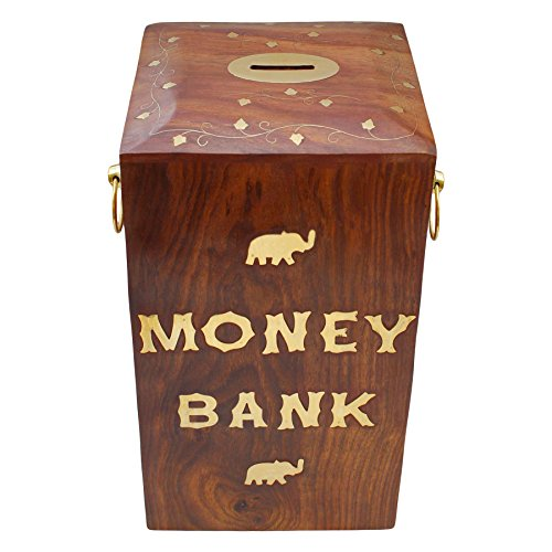 ITOS365 Handicrafted Wooden Money Large product image