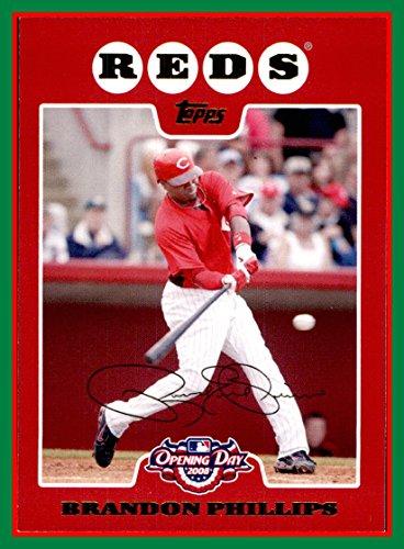2008 Topps Opening Day #118 Brandon Phillips CINCINNATI REDS