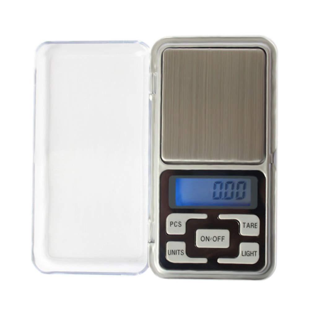 ZHANGYUGE 200 g 0,01 g Digitale Taschenwaage LCD-elektronischen Schmuck Gold Kraut Ausgleichsgewicht Küchenwaage Messwerkzeuge Taschenwaagen