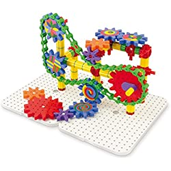 Quercetti Georello Tech Three-Dimensional Structure (165 Piece)