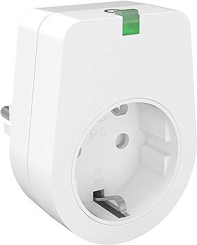 No se requiere Hub 4 Pack Smart Plug Funci/ón de Temporizador 3000W Enchufe Inteligente WiFi Lunvon Toma de Interruptor Remoto Inteligente Inal/ámbrico Compatible con Google Home