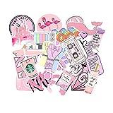 156 Pcs Cute Stickers,Laptop and Water Bottle Decal Sticker Pack for Teens, Girls, Women Vinyl Stickers Waterproof