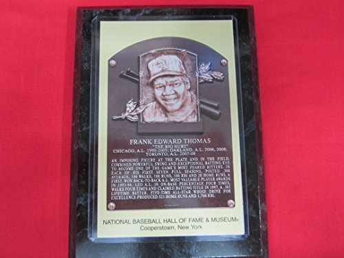 Frank Thomas 2014 Hall of Fame Induction Postcard Plaque ...