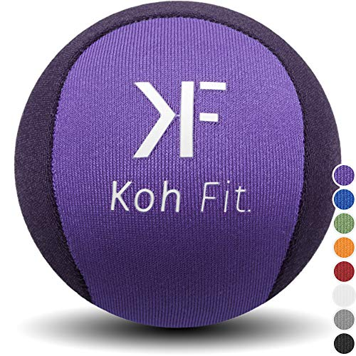 (Koh Fit Stress Ball for Adults - Stress Reliever Squeeze Balls - 2 Bonus Ebooks: Hand Therapy Exercise Guide + Stress Relief)