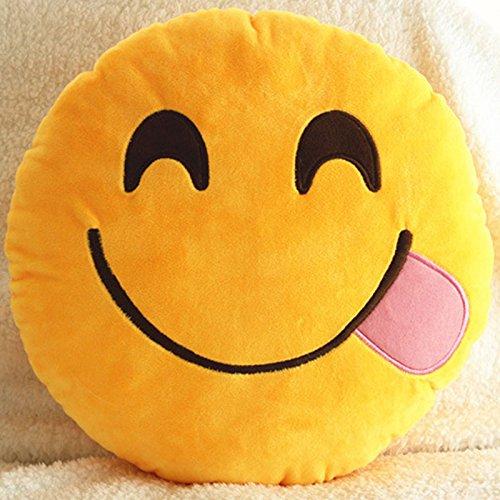 3d diseño de mono de caca EmojI emoticono/cojín manta ...