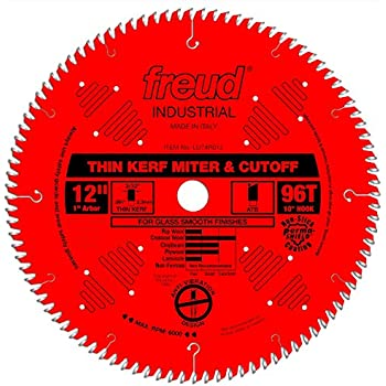 Freud 12 Quot X 96t Thin Kerf Ultimate Cut Off Blade Lu74r012