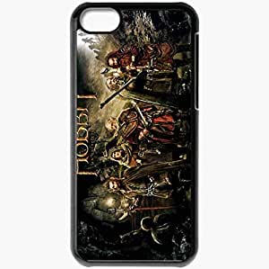Personalized iPhone 5C Cell phone Case/Cover Skin 2012 the hobbit an unexpected journey movies Black by icecream design