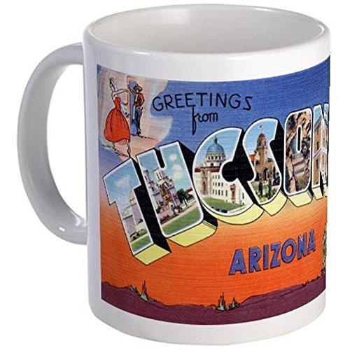 Mug Coffee Tucson - 11 ounce Mug - Tucson Arizona AZ Greetings Mug - S White