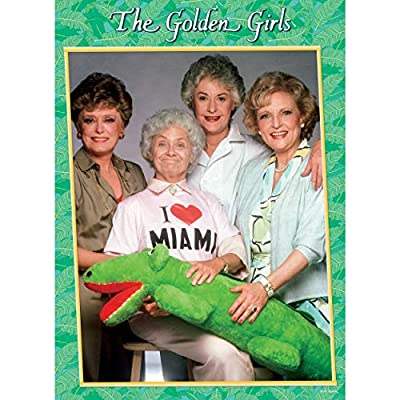 The Golden Girls I Heart Miami 1000 Piece Jigsaw Puzzle | Officially Licensed Golden Girls Merchandise | Collectible Puzzle Featuring Blanche, Dorothy, Sophia, and Rose: Toys & Games