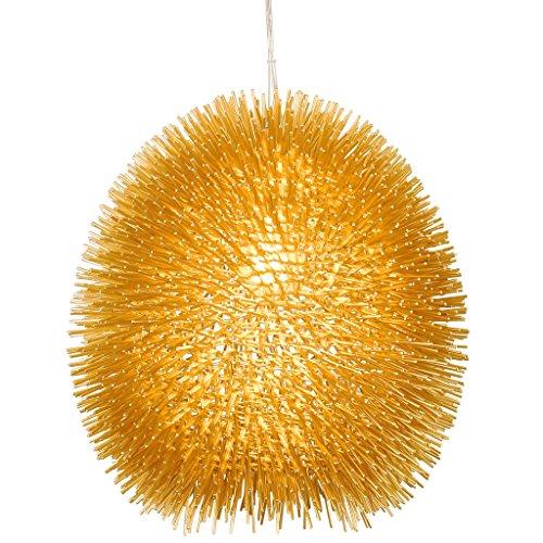 (Varaluz 169P01GO Urchin 1-Light Pendant - Gold)