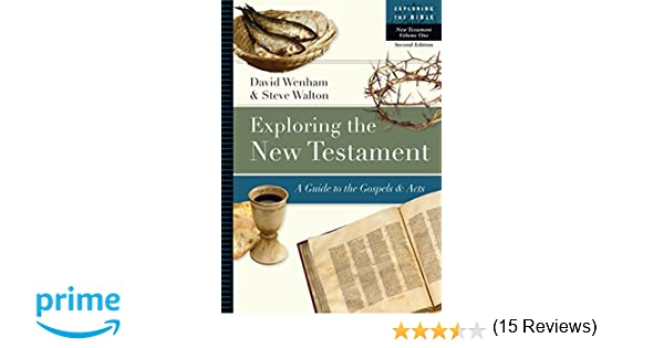 1 exploring the new testament a guide to the gospels acts 1 exploring the new testament a guide to the gospels acts exploring the bible david wenham steve walton 9780830853076 amazon books fandeluxe Choice Image