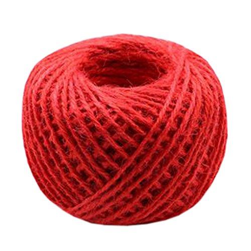 Hand Knitting Hemp Rope DIY Satin Ribbon Decorative Riband Twine P by Kylin Express