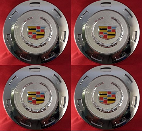 "4pcs. 2007-2013 Gm Cadillac Escalade Colored Crest 22"" Wheel Center Cap 9596649"