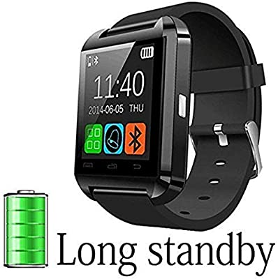 DOESIT Smart Watch, Touch Screen Smart Wrist Watch Bluetooth Smartwatch with Camera Pedometer Sleep Monitor for Samsung, Galaxy Note, Nexus, HTC, Sony ...