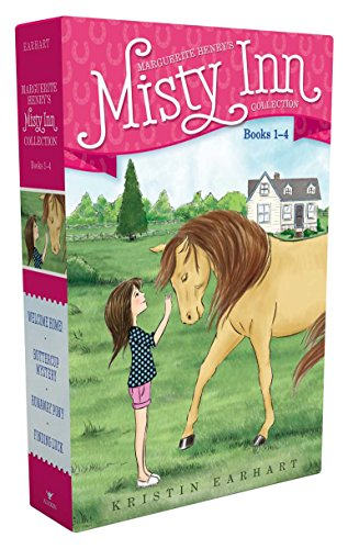 Marguerite Henry's Misty Inn Collection Books 1-4: Welcome Home!; Buttercup Mystery; Runaway Pony; Finding Luck by Aladdin (Image #2)