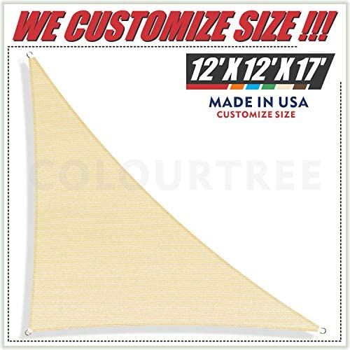 ColourTree Triangle Sunshades Resistant Commercial product image