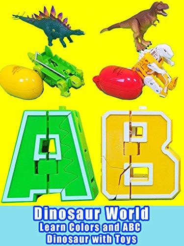 Dinosaur World - Learn Colors and ABC Dinosaur with Toys