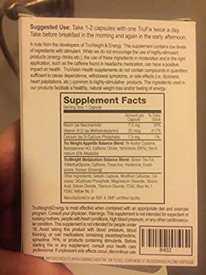 Truvision Health ~ Generation 2 ~trufix ~ 30 Day Supply ~ (120)
