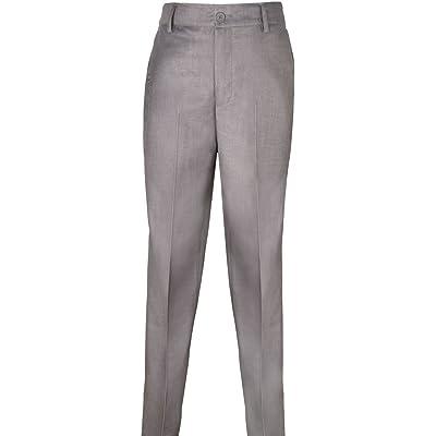 Armando Martillo Big Boys' Dress Pants Black, Navy, Dark & Light Gray