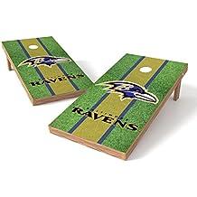 Wild Sports NFL 2' x 4' Field Authentic Cornhole Game Set